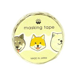 Dogs Die-Cut Washi Tape