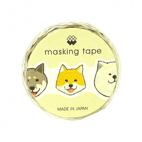 Washi Tape Die-Cut Dogs