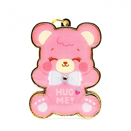 Hug Me! Bear Strawberry Charm