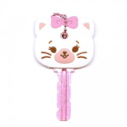 Hug Me! Kitty Key Cover