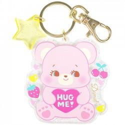 Hug Me! Heart Bear Keychain
