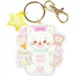Hug Me! Kitty Keychain