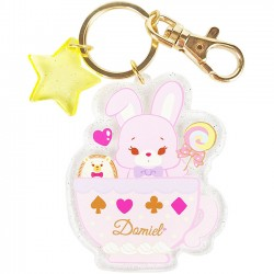 Hug Me! Bunny Keychain