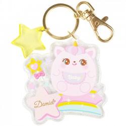 Hug Me! Baby Unicorn Keychain