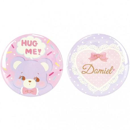 Hug Me! Bear Button Badges Set