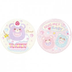 Hug Me! Baby Button Badges Set