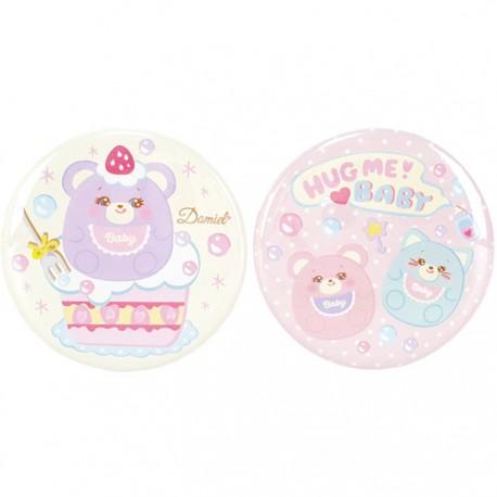 Hug Me! Baby Button Badges Set