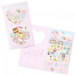 Set Stickers Volume Sanrio Characters Fun Days