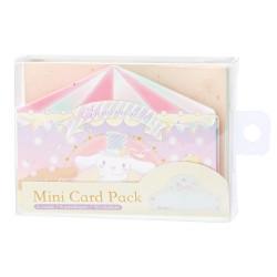 Set Mini Cartões Cinnamoroll Circus