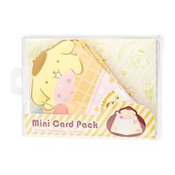 Pompom Purin Crepe Mini Cards Set