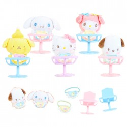 Set Mini Peluche & Silla Sanrio Characters Baby
