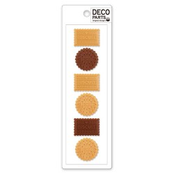 Deco Biscuits Cabochons Set