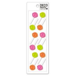 Set Apliques Deco Lollipops