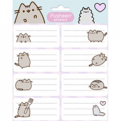 Pusheen Label Stickers