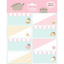Pusheen Foodie Label Stickers