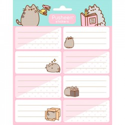 Etiquetas Adhesivas Pusheen Activities