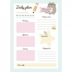 Pusheen Daily Plan Memo Pad
