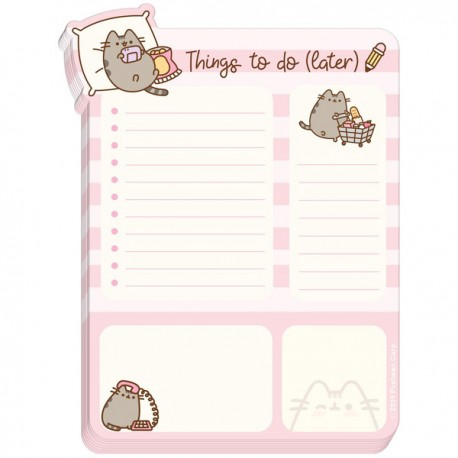 Pusheen Things To Do (Later) Desk Pad