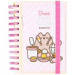 Agenda Escolar 2020/21 Diaria Pusheen Food Fan Club