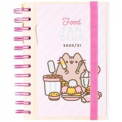 Pusheen Food Fan Club 2020/21 School Daily Planner