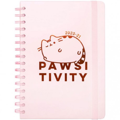 Pusheen Pawsitivity 2020/21 A5 School Weekly Planner