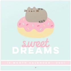Calendário Parede 2021 Pusheen Sweet Dreams