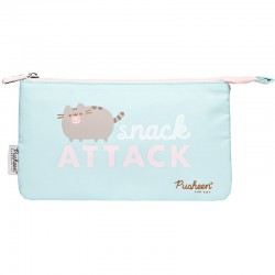 Pusheen Snack Attack 3-Pocket Pen Pouch