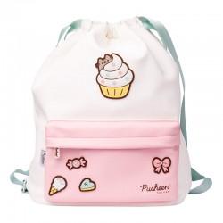 Pusheen Rose Drawstring Backpack