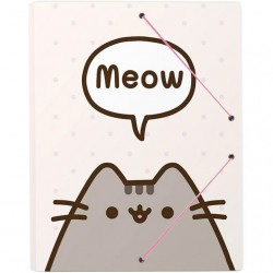 Pasta Documentos Elásticos Pusheen Meow
