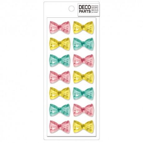 Set Apliques Deco Starry Bows