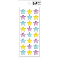 Deco Stars Cabochons Set