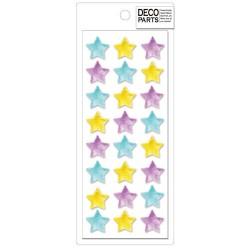 Set Apliques Deco Stars