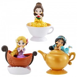Disney Princess Heroine Doll Capchara Figure Series 5 Gashapon