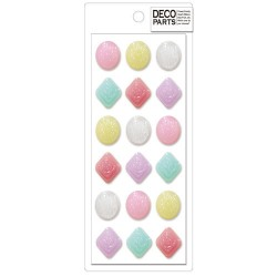 Deco Candies Cabochons Set