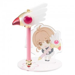Cardcaptor Sakura Clear Card Mini Pen & Stand Set