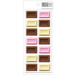 Set Apliques Deco Choco