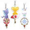 Cardcaptor Sakura Clear Card Platinally Mascot Charm Strap