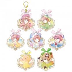 Llavero Cardcaptor Sakura Clear Card Bow