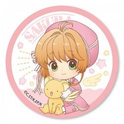 Crachá Cardcaptor Sakura Clear Card Pink Ribbon Dress