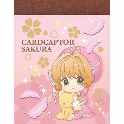 Cardcaptor Sakura Pink Ribbon Dress Mini Memo Pad