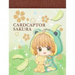 Mini Bloco Notas Cardcaptor Sakura Frog Raincoat