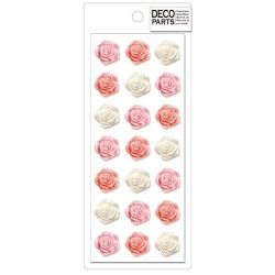 Set Apliques Deco Roses