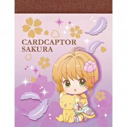 Cardcaptor Sakura Pastel Lotus Mini Memo Pad