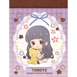 Cardcaptor Sakura Tomoyo Tomoeda School Uniform Mini Memo Pad