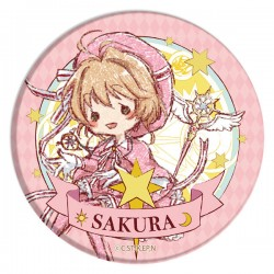 Cardcaptor Sakura Clear Card Sakura Graff Art Button Badge