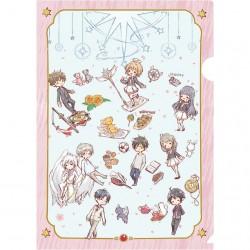 Carpeta Cardcaptor Sakura Clear Card Group Graff Art