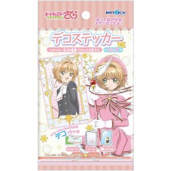 Cardcaptor Sakura Clear Card Stickers