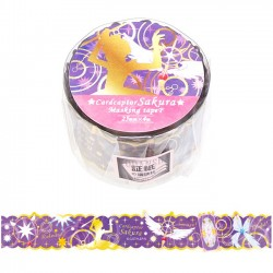 Cardcaptor Sakura Die-Cut Washi Tape Dream Wand