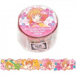 Cardcaptor Sakura Die-Cut Washi Tape Blossom