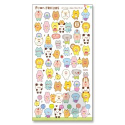 Fuwa Friends Stickers